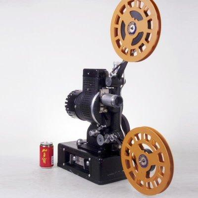 百寶軒 古董法國德布瑞Debrie16毫米/16mm電影機放映機功能正常 ZG3634