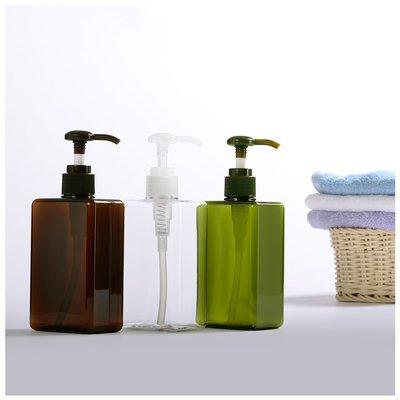 『藝瓶』瓶瓶罐罐 空瓶 空罐 化妝保養品分類瓶 按壓瓶 矩型乳液/壓泵分裝瓶子-長方(大)