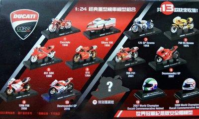 7-11city cafe 義大利杜卡迪ㄧ摩托車世界大賽系列模型