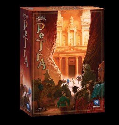 大安殿含稅附發票 Passing Through Petra 遊歷玫瑰城佩特拉 正版益智桌遊
