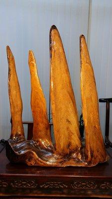 ॐ〘聖多羅〙自然奇木擺件