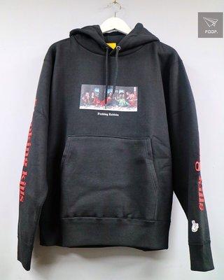 [FDOF] FR2 Last supper hoodie 最後的晚餐帽tee  黑色 日本公司貨
