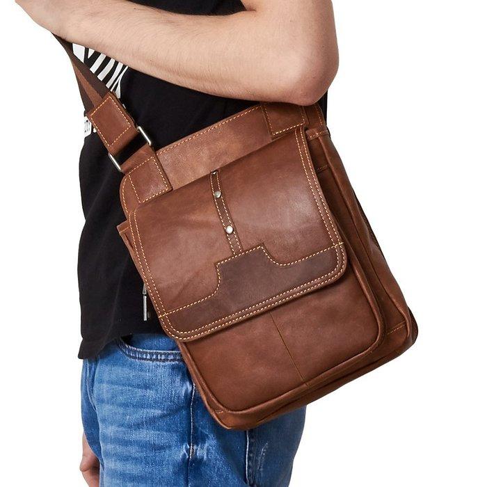 側背包 真皮包包 男包 韓款風格 免運費 單肩包 電腦包 書包 JY 6361【FQ包包】