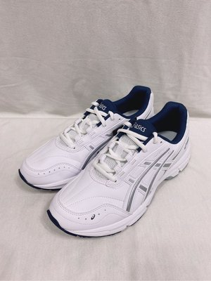 ASICS亞瑟士 TIGER GEL-ESCALATE 復古鞋 皮面 休閒慢跑鞋 1201A039-100 白色