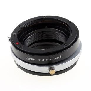 360度移軸 TILT Kipon NIKON AI F D鏡頭轉MICRO M4/3相機身轉接環 NIKON-M4/3