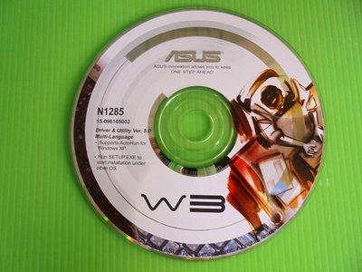 《啄木鳥小舖》<DRIVER~CD>華碩 W3系列 筆電驅動光碟(N1285)[適用Win 98,2000,XP]