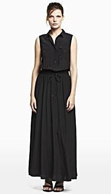 破盤清倉大降價!全新Kenneth Cole黑色狩獵風長洋裝,神秘又有質感喔!低價起標無底價!本商品免運費!