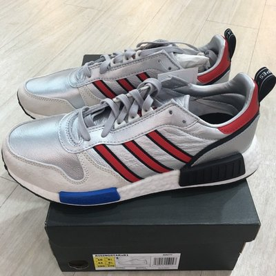 {Moli}Adidas Rising Star X NMD R1 三十周年跑步鞋 紅藍銀 金屬光 男鞋 G26777