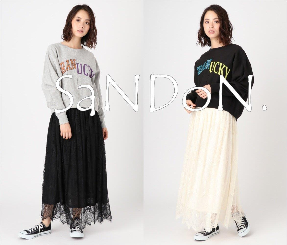 SaNDoN x『UNGRID』秋季搶先曝光 官網預約販售 睫毛古典厚實蕾絲柔軟長裙 SLY KBF 170725