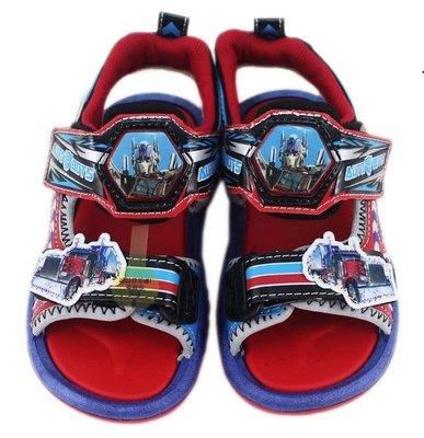 【卡漫迷】 Cars 兒童 涼鞋 ㊣版...