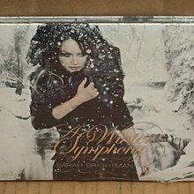 正版全新CD《莎拉布萊曼》真愛永恆 冬之歌/ Sarah Brightman A Winter Symphony 全新未