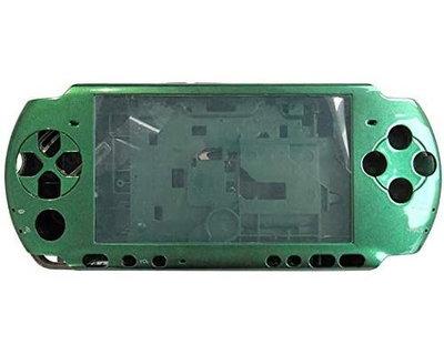 【出清商品】SONY PSP 3000 3007 副廠 全機外殼 機殼 專業維修 快速維修 深綠色 不含按鍵 螺絲 台中