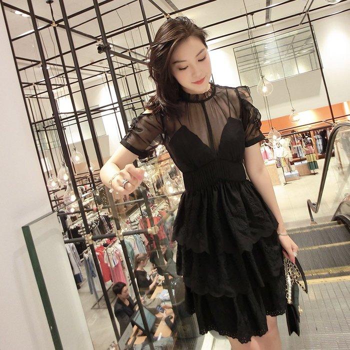 《巴黎拜金女》荷葉邊心機設計連衣裙高腰流行裙子