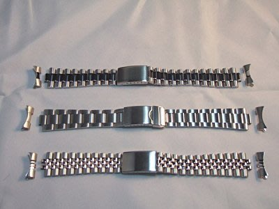 蠔式不繡鋼錶帶,品質最好!保證不繡鋼,有三種喔!!