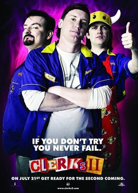 【藍光電影】瘋狂店員2:店員的激情 Clerks II(2006)時隔十二年之後,原班人馬再度出演 30-082
