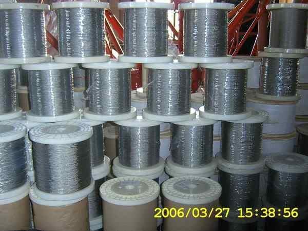 1 TIG 不銹鋼索0.3mm-16mm,/ 鍍鋅鋼索/白鐵鋼索/鋼索披覆PVC,NYLON,TPU,PE.