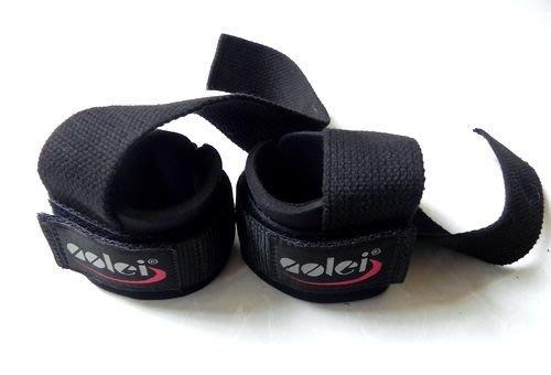 宙斯健身網-AOLEI 專業健身拉力帶握力帶舉重硬拉防滑帶2入(ALS03)one size