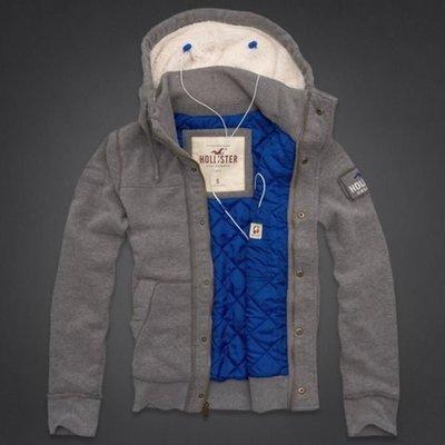 HOLLISTER 鋪棉連帽外套 322-222-0265-011  MY-麋鹿嚴選全新真品 AF A&F 海鷗