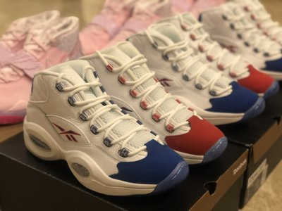 Us.9全新 Reebok Question Mid Ivaerson Double Cross 陰陽 FV7563