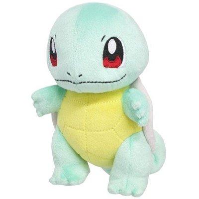 尼德斯Nydus 日本正版 精靈寶可夢 神奇寶貝 Pokemon 絨毛玩偶 娃娃 傑尼龜 Squirtle