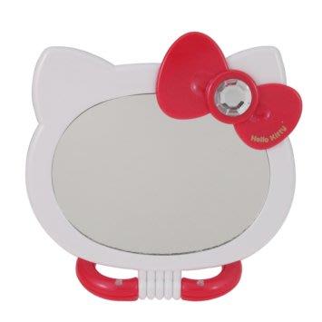 41+ 現貨不必等 正版授權 KITTY 凱蒂貓 造型折疊2用雙面鏡 MT-765KT 紅    my4165