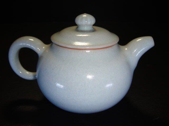 【元本坊】-張書曜老師最新作品-手拉坏汝窯茶壺(3)-茶具-蔡曉芳-普洱茶-鐵壺-江有庭-茶壺
