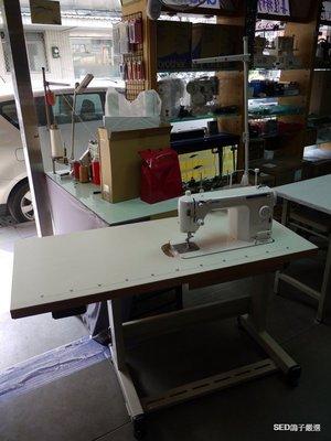 SED鴿子:JUKI 2010Q 桌上型平車縫紉機+專用板面桌子 台北縫紉機