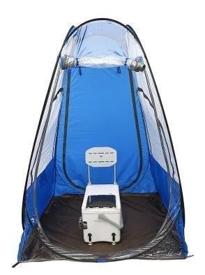 BELOCO 戶外野外釣魚用品垂釣裝備單人帳篷防雨風遮BE655