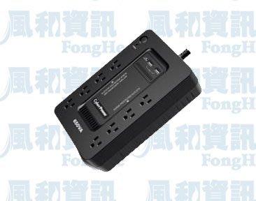 CyberPower CP650HGa 離線式不斷電系統(650VA/375W)【風和資訊】