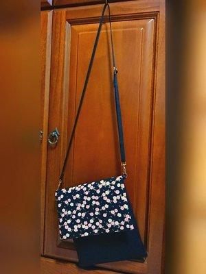 【莓好生活】日系和風斜背包🎁贈送1條斜背帶🎁/手機包/小包/櫻花/燙金/純手工/高質感