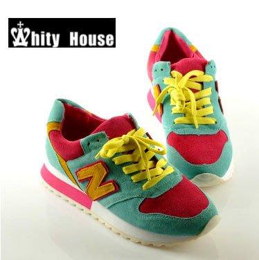 =WHITY=韓國GRAMMI品牌 韓國製 牛皮小厚底真皮軟底鞋 完美配色好穿 特價S3HO463