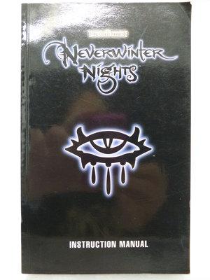 【月界2】Neverwinter Nights Instruction Manual 絕冬城之夜遊戲手冊 〖電玩〗CHQ