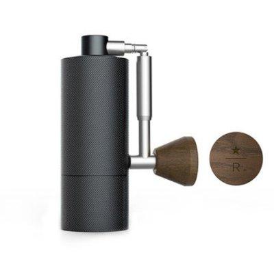 咖啡機正品STARBUCKS星巴克日本Hario陶瓷磨芯手搖咖啡豆磨豆機黑色
