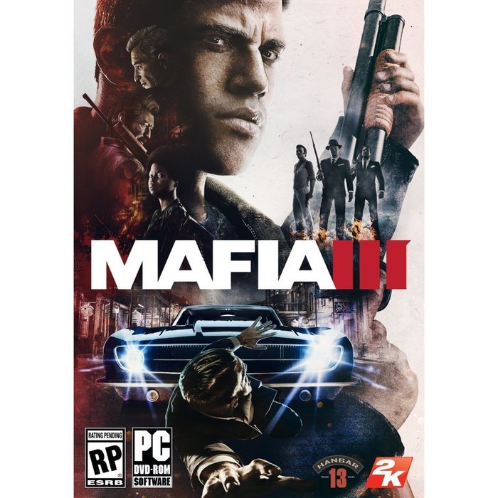【傳說企業社】PCGAME-Mafia III 四海兄弟3 黑手黨3(中文版)