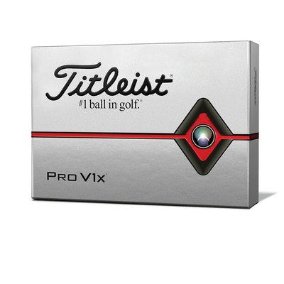 **三榮高爾夫** Titleist  新款 Pro V1X (四層球)