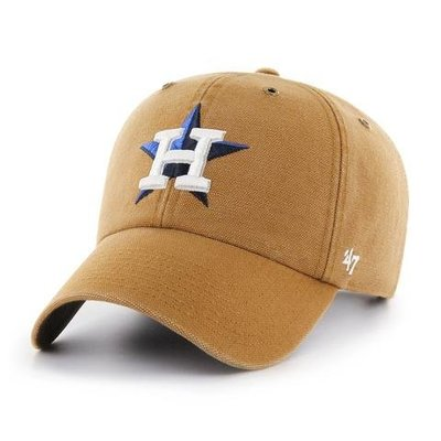 【血拼妞】現貨 47 BRAND HOUSTON ASTROS  CARHARTT X '47  休士頓太空人 老帽