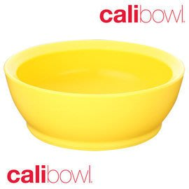 【魔法世界】【美國 CaliBowl】專利防漏防滑幼兒學習碗(單入無蓋) 12oz -黃色