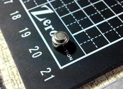 @萬磁王@釹鐵硼磁鐵-6mmx5mm大小頭-像電池一樣的磁鐵