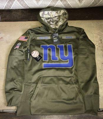 NFL Nike 巨人隊 球員版 軍人致敬 帽T 洋基 jordan kobe curry brady 牛仔 包裝工 愛國者 紅襪
