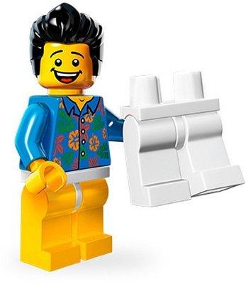 【荳荳小舖】LEGO樂高minifigures人物系列-樂高電影系列-No.13 脫褲男 含運200下標即售