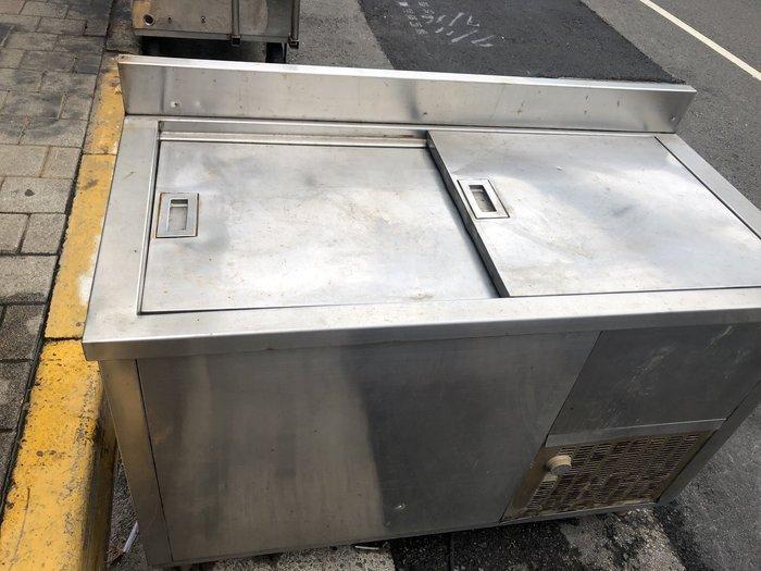 *台北大銓專業冷藏冷凍*【中古】4尺推拉涼水櫥