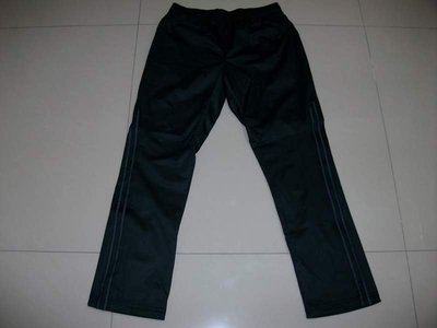 【全新商品】tsmc 25週年 紀念版 黑色基本素面 兩條夾條 輕量型 運動休閒長褲 ~$490元就賣~