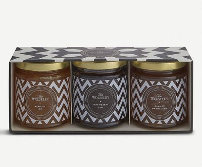 (預購)英國知名 THE WOLSELEY 果醬禮盒 jams & marmalade gift set