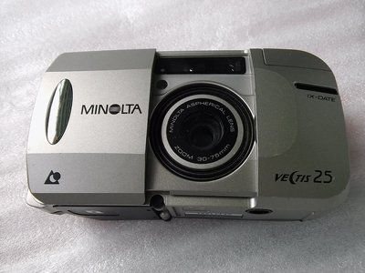 Minolta Victis 25 Zoom 30-75 m/m使用APS底片/本產品不附任何電池(不知好壞,當故障品隨