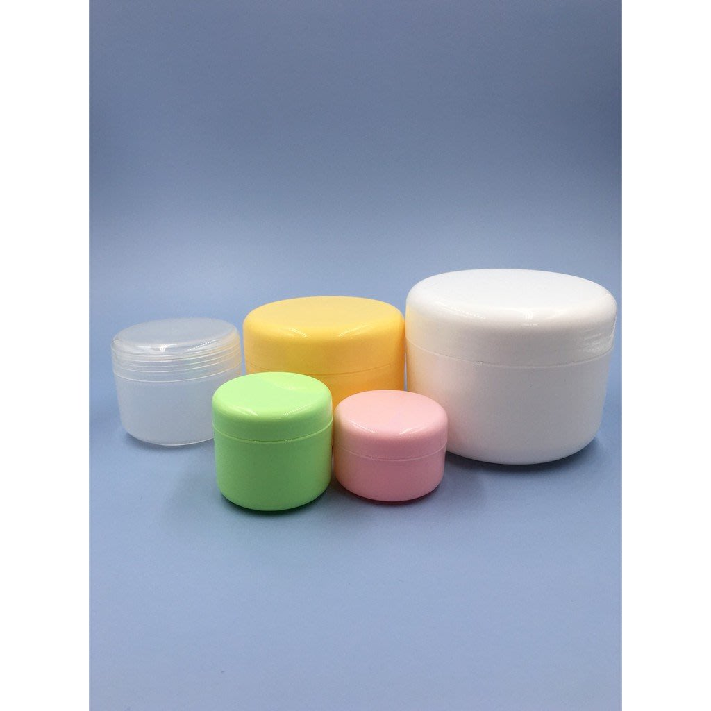 【滿額免運】10克 面霜盒 膏霜瓶 面霜盒 20/30/50 克 PP 膏霜瓶  分裝瓶 化妝品瓶盒 配內蓋
