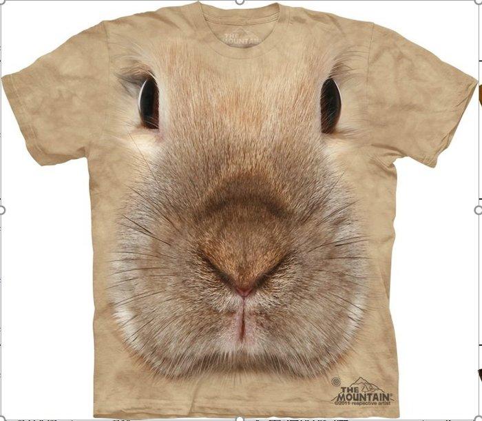 【線上體育】The Mountain 短袖T恤  M號 兔子臉 TM-103446.jpg