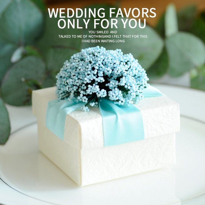 衣萊時尚-熱賣款  喜糖盒子 薰衣草歐式糖果盒包裝 結婚創意婚禮禮盒SJ