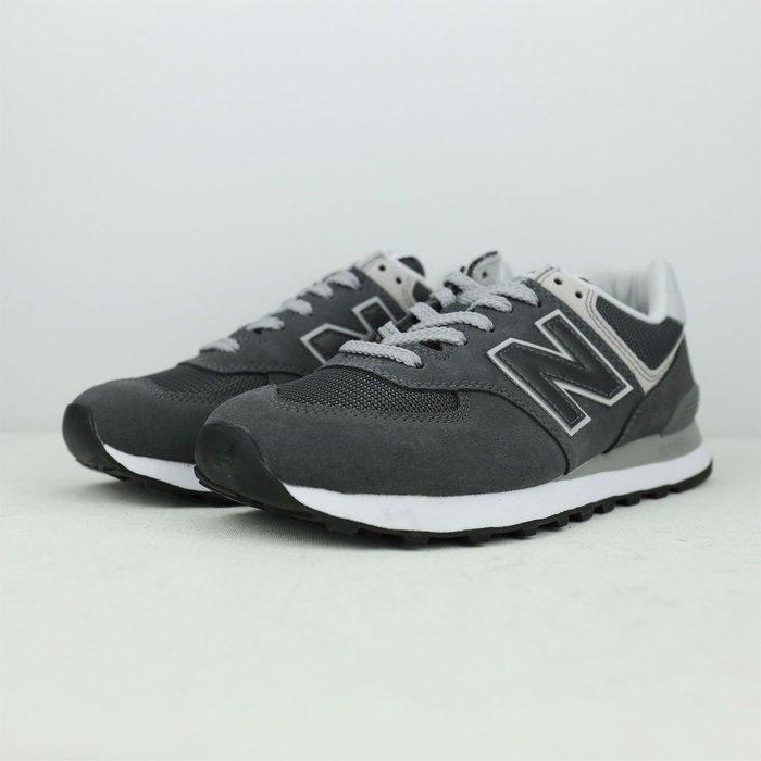 New Balance 慢跑鞋 麂皮 深灰 男 基本款 ML574EPH☆SP☆