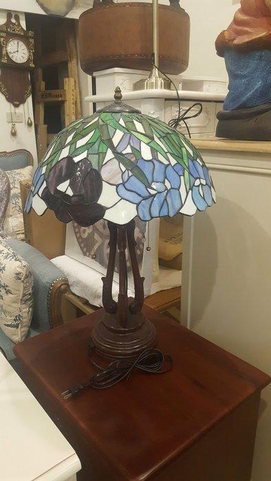 歐式歐洲古典鄉村風蒂芬妮桌燈 16吋大桌燈