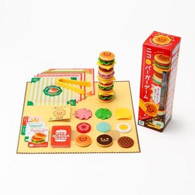 現貨! 日本進口 微笑漢堡疊疊樂 3種玩法 平衡遊戲 桌遊 小G日代